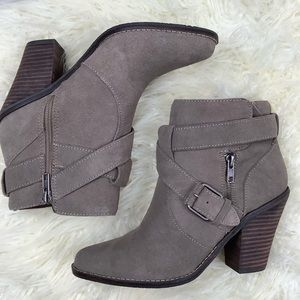 Taupe Dolce Vita Connery Bootie